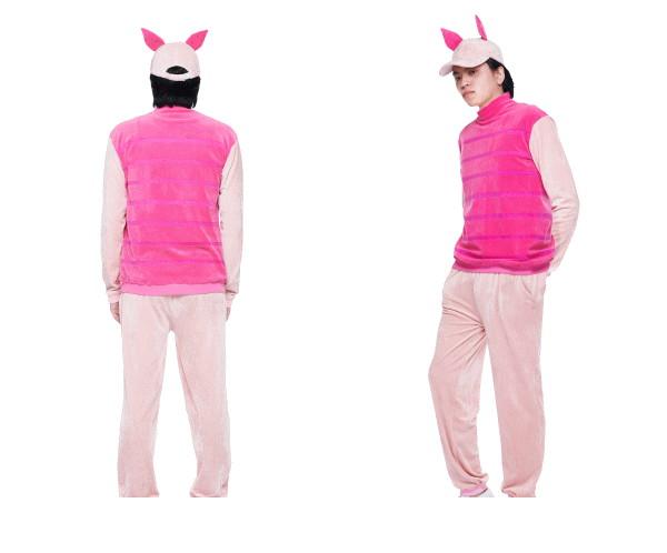 メンズ ピグレットくまのプーさん ディズニー プーさん 映画 ハロウィン コスプレ コスチューム 衣装 仮装 かわいい