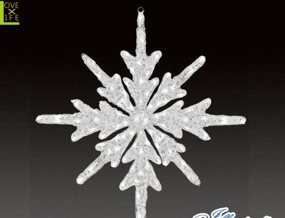 【LED】【ACR-(A)SGL】【大型商品】LEDクリスタル スノーギャラクシーL【スノーフレーク】【雪】【結晶】【スノー】【モチーフ】【イルミネーション】【クリスタル】AOIデパートの新作イルミネーション【大人気】【電飾】【クリスマス】【省エネ】【大人気】