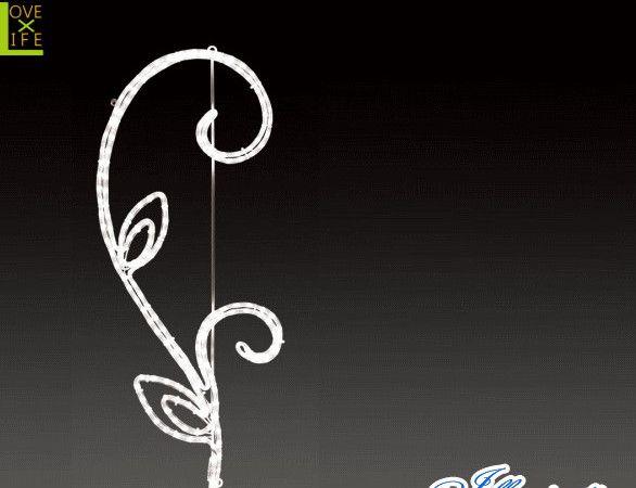 【LED】【ALRM-GO(A)TH-DRB】【無限大】LEDロープライト ゴシックダブルリーフブランチ【ライン】【線】【組み合わせ】【連結】【モチーフ】【イルミネーション】【クリスタル】AOIデパートのイルミネーション【大人気】【電飾】【クリスマス】【省エネ】