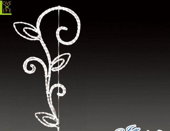 【LED】【ALRM-GO(A)TH-TRB】【無限大】LEDロープライト ゴシックトリプルリーフブランチ【ライン】【線】【組み合わせ】【連結】【モチーフ】【イルミネーション】【クリスタル】AOIデパートのイルミネーション【 】【電飾】【クリスマス】【省エネ】