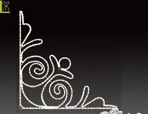 【LED】【ALRM-BA(A)RD】【無限大】LEDロープライト バロック【マーク】【角】【ライン】【線】【組み合わせ】【連結】【モチーフ】【イルミネーション】【クリスタル】AOIデパートのイルミネーション【 】【電飾】【クリスマス】【省エネ】【大 】