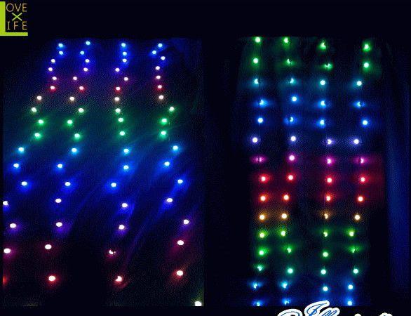 【LED】【RGB】【DF8(C)0RGB】【ボール】LED ボールカーテンライト【80球】【丸】【球】まん丸ライトがカーテンライトになりました 光り方もかわいいですよ AOIデパートのLEDイルミネーション【イルミネーション】【クリスマス】【電飾】【省エネ】【大人気】