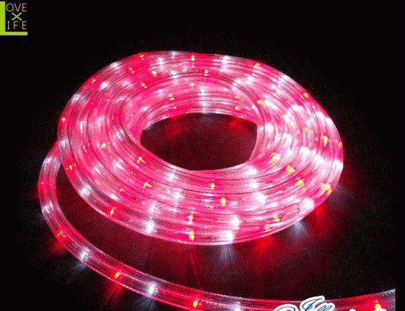 直営店 LED チューブライト ロープライト LEDルミネチューブ 保障 ホワイト レッド イルミネーション クリスマス ルミネチューブ 45M 用途色々のチューブライトAOIデパートのLEDイルミネーション 省エネ 大人気 電飾 CLED45WR