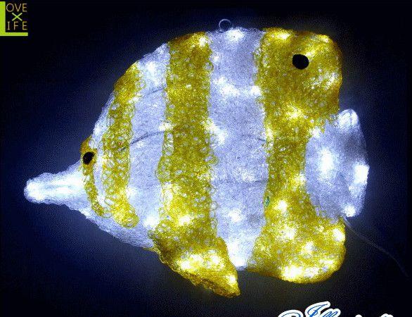 【LED】【3D】【モチーフ】【L3D(C)354】LED チェルモ【立体】【水族館】【シーアニマル】【サカナ】【魚】【フィッシュ】シーアニマルシリーズ充実 おうちで水族館 AOIデパートのLEDイルミネーション【イルミネーション】【クリスマス】【電飾】【省エネ】