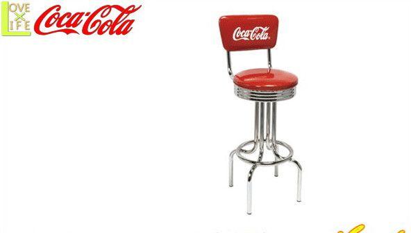 【コカ・コーラ】【COCA-COLA】コカコーラ スツール【V-Stool】【家具】【イス】【椅子】【コーク】【机】【アメリカン雑貨】【ドリンク】【ブランド】【アメリカ】【USA】【かわいい】【おしゃれ】コカコーラよりたくさんのグッズが登場 かっこいい空間をを作るのに最適