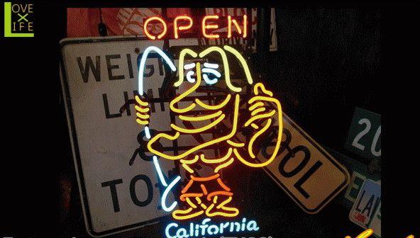 【アメリカン雑貨】ネオン サイン【CALIFORNIA OPEN】【アメリカ雑貨】【ネオンライト】【電飾】【BAR】【インテリア】【アメリカ】【USA】【かわいい】【おしゃれ】定番のアメリカン雑貨や珍しいグッズを多数揃えました お気に入りのアイテムで楽しい空間を演出【大大人気】
