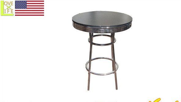 【アメリカン雑貨】バー テーブル【Bar Table Black】【アメリカ雑貨】【テーブル】【パブ】【バー】【BAR】【インテリア】【アメリカ】【USA】【かわいい】【おしゃれ】定番のアメリカン雑貨や珍しいグッズを多数揃えました お気に入りのアイテムで楽しい空間を演出