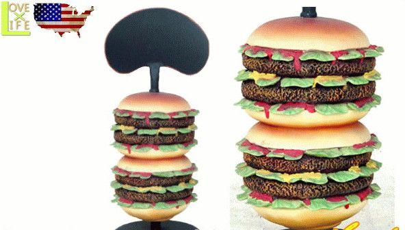 【アメリカン雑貨】【BIG SALES PROMOTION DOLL】ハンバーガー【HAMBURGER】【置物】【オブジェ】【大型商品】【人形】【アメリカ雑貨】【アメリカ】【USA】【かわいい】【おしゃれ】ドデカのドールでアイキャッチ 目立つならコレ 精巧な作りでグッド 目立ちます