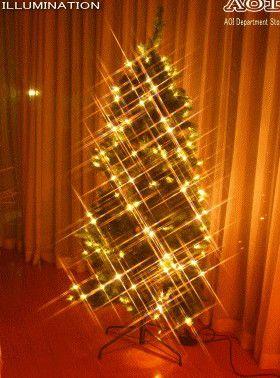 LED クリスマスツリー モチーフ イルミネーション BIGなツリー!クリスマスに間に合うようにお早めに!!うつくしいですYO!?2008年新作!【送料無料】【新商品】【大人気】【大大人気】【20 】