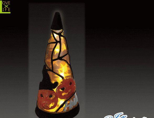 【ハロウィン】LED クリスタル ハロウィンコーン オレンジ【S】【コーン】【クリスマス】【イルミネーション】【電飾】【装飾】【飾り】【パーティ】【イベント】【光】【LED】【モチーフ】【かわいい】ハロウィンイルミネーションも大人気 素敵なパーティになっちゃいます