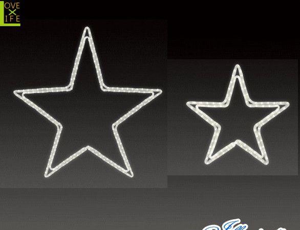 【LED】【イルミネーション】LEDロープライト ペンタスターA【L】【左】【星】【輝き】【スター】【マーク】【ライン】【線】【組み合わせ】【連結】【モチーフ】【電飾】【クリスタル】【かわいい】【平面】今年もかわいいモチーフで飾りつけ 多種多様で飾りつけ無限大