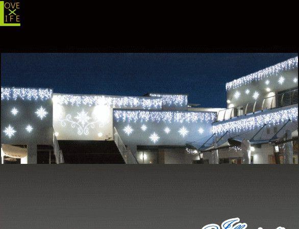 【イルミネーション】LED つららライト【252球】【氷】【氷結】【冬】【簡単】【工事】【均等】【電飾】【装飾】【クリスマス】【輝き】【美しい】【かわいい】【イルミ】【ライト】横長大容量のつららが新登場 屋根から下げれば美しい冬国に大変身しちゃいます