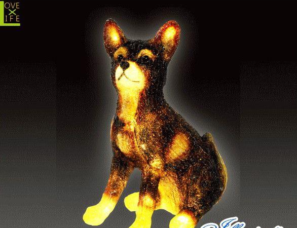 【イルミネーション】LEDクリスタル シバ【いぬ】【ドッグ】【DOG】【アニマル】【動物】【立体】【3D】【アート】【輝き】【電飾】【モチーフ】【クリスマス】【クリスタル】【かわいい】大人気の動物イルミネーションに新しい仲間達が大集合 かわいさ満点