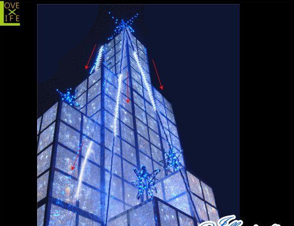【イルミネーション】LED ストリングスノーフォール【96球】【ホワイト】【流れ星】【流星】【雫】【スター】【LEDライト】【ストレート】【電飾】【装飾】【クリスマス】【輝き】【美しい】【イルミ】【ライト】大迫力の流れ星が登場 願い事を確実に願えれるハズ
