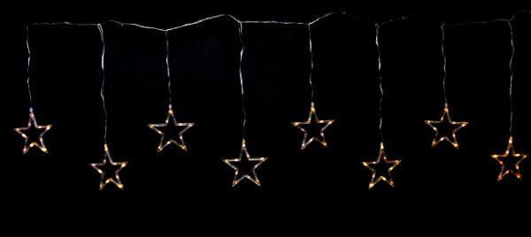【イルミネーション】LED スターつらら【星】【スター】【つらら】【流れ星】【吊るし】【2D】【装飾】【飾り】【アート】【輝き】【電飾】【モチーフ】【クリスマス】【クリスタル】【かわいい】今年もキュートなモチーフが多数新登場 かわいく飾り付け