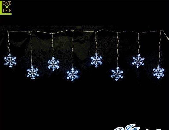 【イルミネーション】LED スノーフレークつらら【ホワイト】【結晶】【雪】【スノー】【2D】【装飾】【飾り】【アート】【輝き】【電飾】【モチーフ】【クリスマス】【クリスタル】【かわいい】今年もキュートなモチーフが多数新登場 かわいく飾り付け