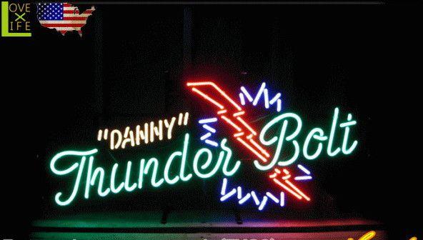 【アメリカン雑貨】ネオン サイン【DANNY THUNDERBOLT】【アメリカ雑貨】【ネオンライト】【電飾】【BAR】【インテリア】【アメリカ】【USA】【かわいい】【おしゃれ】