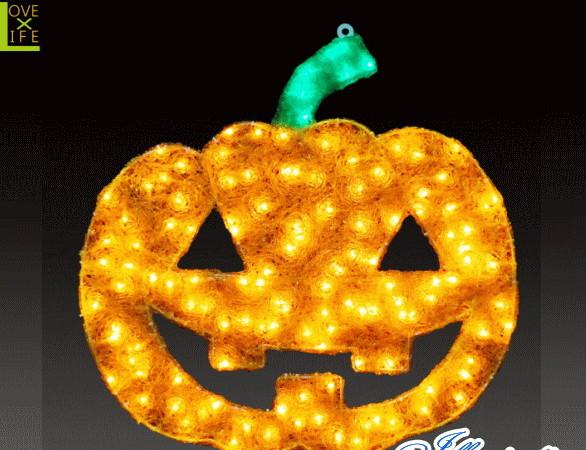 【ハロウィン】2Dパンプキン【S】【パンプキン】【かぼちゃ】【クリスマス】【イルミネーション】【電飾】【装飾】【飾り】【パーティ】【イベント】【光】【LED】【モチーフ】【かわいい】