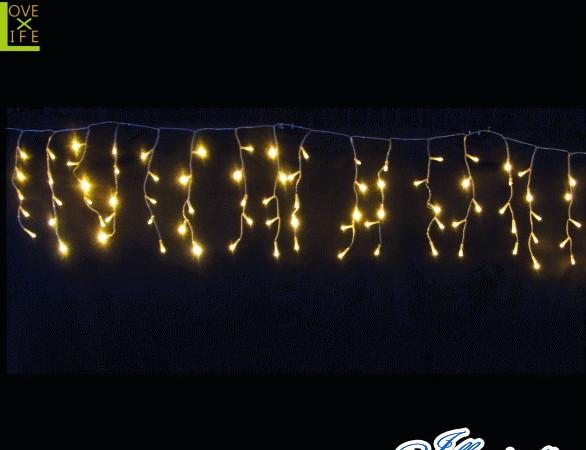 【イルミネーション】カーテンライト【95球】【LED】【ナイアガラ】【川】【冬】【簡単】【工事】【均等】【電飾】【装飾】【クリスマス】【輝き】【美しい】【かわいい】【イルミ】【ライト】
