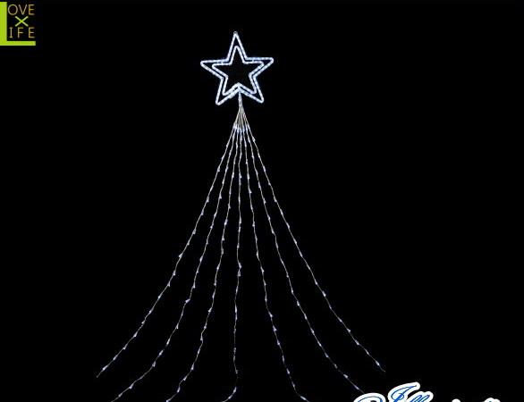 【イルミネーション】ドレープライトトップスター【ホワイト】【LED】【210球】【冬】【簡単】【工事】【均等】【電飾】【装飾】【クリスマス】【輝き】【美しい】【かわいい】【イルミ】【ライト】