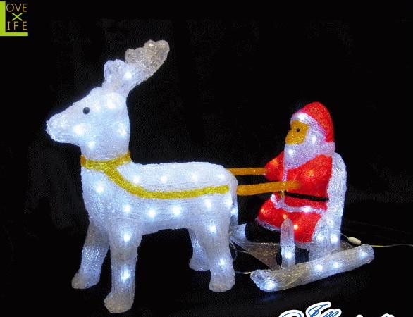 【イルミネーション】サンタソリとトナカイ【サンタクロース】【3D】【立体】【サンタさん】【LED】【クリスマス】【電飾】大人気! 【イルミネーション】サンタソリとトナカイ【サンタクロース】【3D】【立体】【サンタさん】【LED】【クリスマス】【電飾】【モチーフ】【かわいい】
