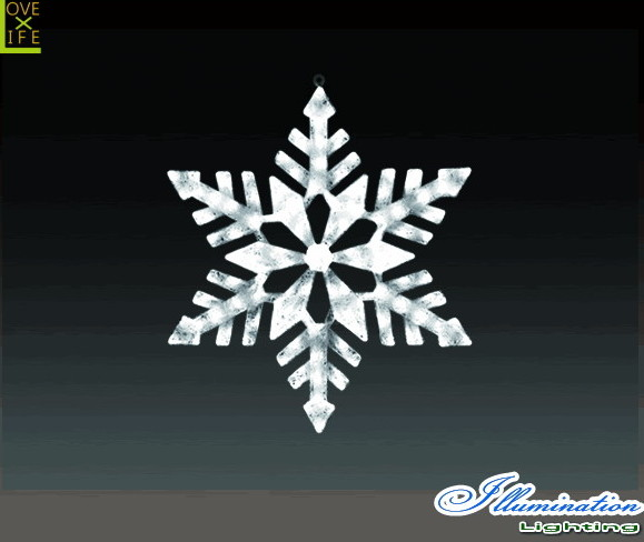 【イルミネーション】スノージェイド【M】【雪】【結晶】【スノー】【フレーク】【クリスタル】【LED】【フォルム】【電飾】【モチーフ】【クリスマス】【かわいい】