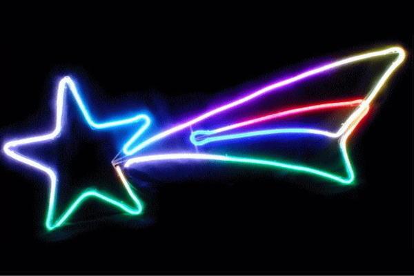 【イルミネーション】スターダスト【LEDフルカラー】【スター】【星】【流れ星】【アート】【クリスタル】【LED】【フォルム】【電飾】【モチーフ】【クリスマス】【かわいい】