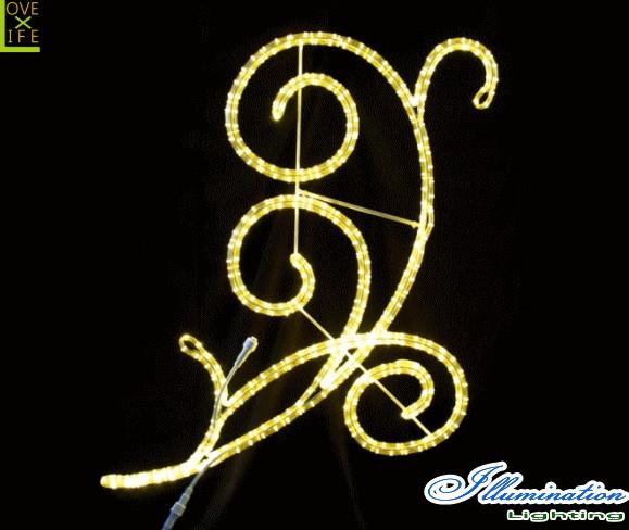 【イルミネーション】アラベスク【110】【エンブレム】【ロゴ】【マーク】【壁掛け】【2D】【LED】【装飾】【飾り】【アート】【輝き】【電飾】【モチーフ】【クリスマス】【クリスタル】【かわいい】