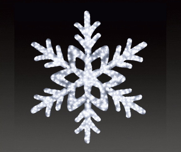 【イルミネーション】【大型商品】ビッグスノーフレーク【雪】【結晶】【スノー】【フレーク】【クリスタル】【LED】【フォルム】【電飾】【モチーフ】【クリスマス】【かわいい】