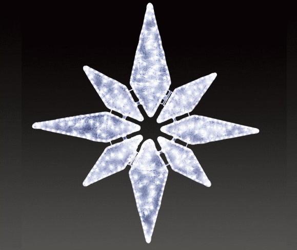 【イルミネーション】セパレーツブライト【ホワイト】【小】【スター】【星】【LED】【球体】【装飾】【飾り】【アート】【輝き】【電飾】【モチーフ】【クリスマス】