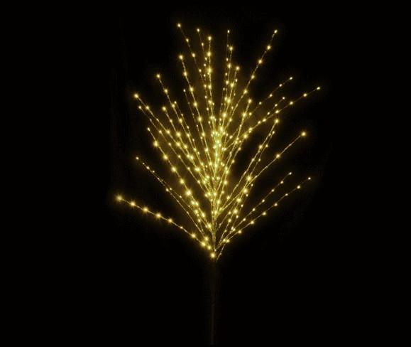 【イルミネーション】ツインクルソフトブランチ【ウォームホワイト】【小】【ウッド】【LED】【木】【装飾】【飾り】【アート】【輝き】【電飾】【モチーフ】【クリスマス】
