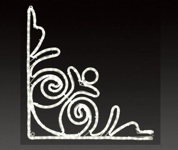 【イルミネーション】バロック【小】【マーク】【角】【ライン】【線】【組み合わせ】【連結】【LED】【2D】【装飾】【飾り】【アート】【輝き】【電飾】【モチーフ】【クリスマス】【かわいい】