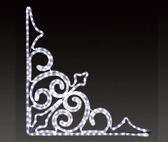 【イルミネーション】トライアングル【小】【マーク】【角】【ライン】【線】【組み合わせ】【連結】【LED】【2D】【装飾】【飾り】【アート】【輝き】【電飾】【モチーフ】【クリスマス】【かわいい】