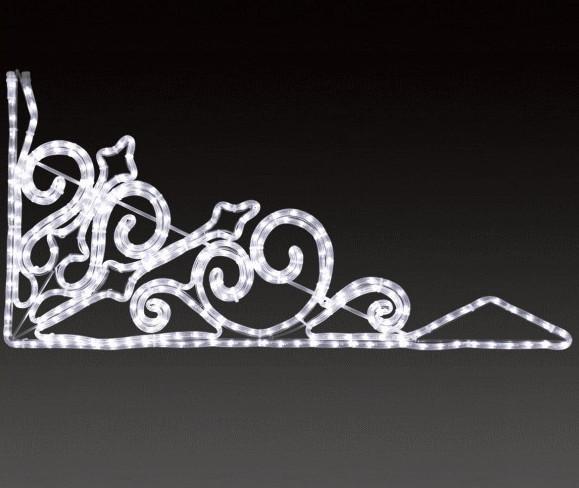 【イルミネーション】バーティリカル【大】【マーク】【角】【ライン】【線】【組み合わせ】【連結】【LED】【2D】【装飾】【飾り】【アート】【輝き】【電飾】【モチーフ】【クリスマス】【かわいい】