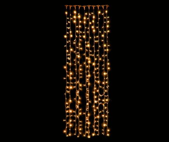 【LED】【ライト】【つらら】LEDカーテンライト【300球】【ウォームホワイト】【電球色】【ツララ】【装飾】【工事】【飾り】【ライン】【組み合わせ】【連結】【ライト系】【イルミネーション】【クリスタル】【電飾】【クリスマス】【省エネ】