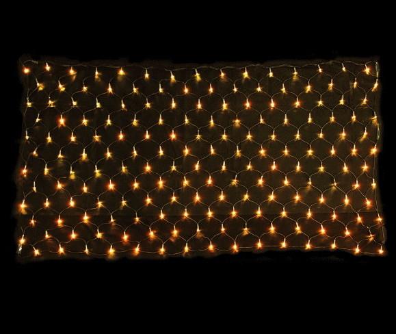 【LED】【ライト】【ネットライト】LEDネットライト2C【ウォームホワイト】【電球色】【180球】【イルミネーション】【超光】【面】【ネット】【簡単】【工事】【均等】【電飾】【装飾】【クリスマス】【輝き】【美しい】【省エネ】【ライト】