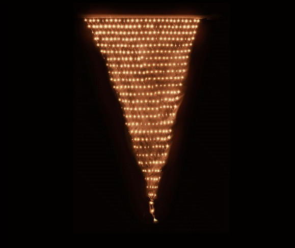 【LED】【ライト】【ネットライト】LEDマウントネットライト【小】【ウォームホワイト】【電球色】【406球】【イルミネーション】【超光】【面】【ネット】【簡単】【工事】【均等】【電飾】【装飾】【クリスマス】【輝き】【美しい】【省エネ】【ライト】