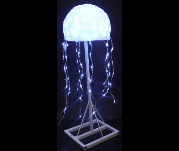 【LED】【ACR-(A)FISH-JF】【大型商品】LEDクリスタルクラゲ【くらげ】【クラゲ】【水母】【海】【深海】【アニマル】【モチーフ】【イルミネーション】【クリスタル】AOIデパートのイルミネーション【大人気】【電飾】【クリスマス】【省エネ】【大人気】