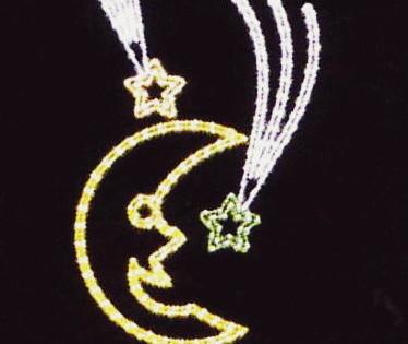 ムーン クリスマス イルミネーション【20 】【送料無料】【クリスマス】【イルミネーション】【電飾】【モチーフ】【大人気】
