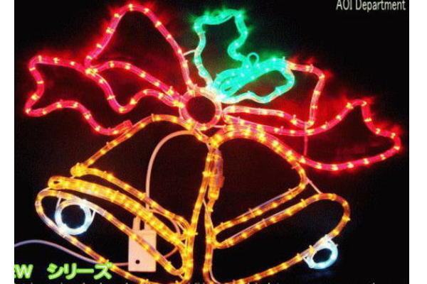 【新商品】LEDイルミネーション LED ツインベル モチーフ♪点滅は8パターン!かわいいベルのモチーフです♪【20 】【クリスマス】【LED】【イルミネーション】【電飾】【送料無料】【2010イルミ_debut】【2010イルミ_led】【2010イルミ_eco】