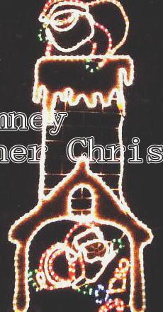 エントツサンタ クリスマス イルミネーション【20 】【送料無料】【クリスマス】【イルミネーション】【電飾】【モチーフ】【大人気】