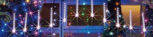 【ローボルト】LEDルミネーション(連結タイプ) LEDフォール 小・白(12本セット)LEDイルミネーション 【LED】【20 】【送料無料】【クリスマス】【イルミネーション】【電飾】【モチーフ】【大人気】
