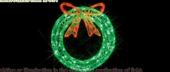 【ローボルト】LEDクリスタルモチーフ リース☆LEDイルミネーション 【LED】【送料無料】【クリスマス】【イルミネーション】【電飾】【モチーフ】【大人気】