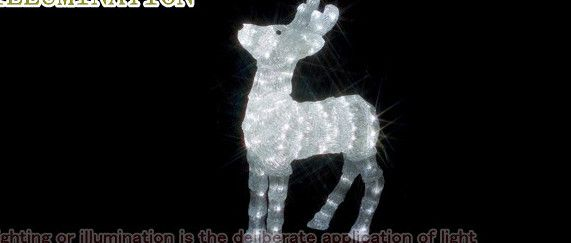【ローボルト】LEDクリスタルモチーフ トナカイ☆LEDイルミネーション 【LED】【送料無料】【クリスマス】【イルミネーション】【電飾】【モチーフ】【大人気】