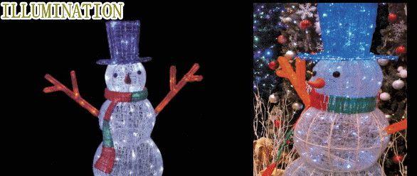 【イルミネーション】【大型商品】LED クリスタルグロー スノーマン【M】【雪だるま】【雪】【3D】【クリスマス】大大人気! 【イルミネーション】【大型商品】LED クリスタルグロー スノーマン【M】【雪だるま】【雪】【3D】【クリスマス】【ILLUMINATION】【電飾】【装飾】【飾り】【イベント】【光】【LED】【モチーフ】【かわいい】今年もかわいいイルミネーションで飾り付け