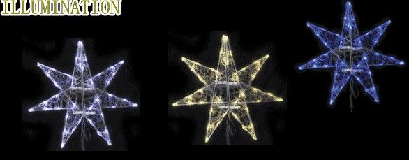 【LED】【イルミネーション】【大型商品】LEDクリスタル ギャラクシースター【輝き】【L】【二枚羽】【星】【万能】【シンプル】【デザイン】【置物】【装飾】【光】【電飾】【モチーフ】【クリスマス】【クリスタル】【かわいい】今年もかわいいイルミネーションで飾り付け