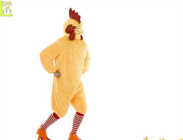 【メンズ】ファンキーチキン【イエロー】【チキン】【ニワトリ】【キャラクター】【仮装】【衣装】【コスプレ】【コスチューム】【ハロウィン】【パーティ】【イベント】【かわいい】今年のハロウィンはかわいい衣装でかっこよく着こなし 目立っちゃいましょう
