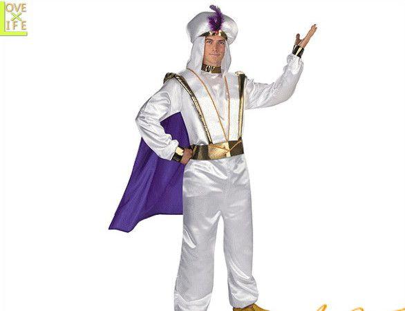 【メンズ】アラジン【Aladdin】【ディズニー】【アニメ】【キャラクター】【Disney】【仮装】【衣装】【コスプレ】【コスチューム】【ハロウィン】【パーティ】【イベント】【かわいい】今年のハロウィンはかわいい衣装でかっこよく着こなし 目立っちゃいましょう