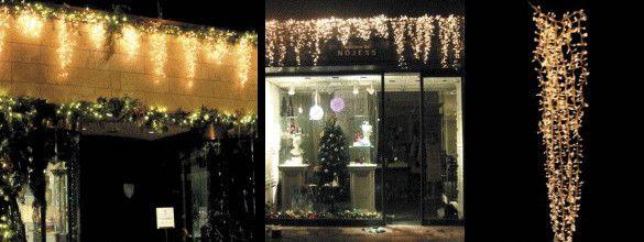 【LED】【イルミネーション】LED アイスライト【1000球】【ゴールド】【つらら】【ツララ】【氷結】【冬国】【ライト】【氷】【壁掛け】【アート】【輝き】【電飾】【クリスマス】【クリスタル】【かわいい】美しい氷のライト 垂らせば美しさにうっとりしちゃいます