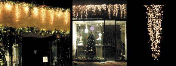 【LED】【イルミネーション】LED アイスライト【300球】【ゴールド】【つらら】【ツララ】【氷結】【冬国】【ライト】【氷】【壁掛け】【アート】【輝き】【電飾】【クリスマス】【クリスタル】【かわいい】美しい氷のライト 垂らせば美しさにうっとりしちゃいます